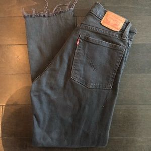 Levi's Wedgie Icon Midnight Jeans